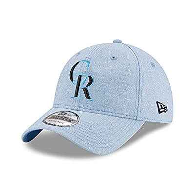 Colorado Rockies New Era 2018 Father's Day 9TWENTY Adjustable Hat Light Blue