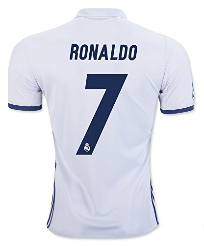 924b9c0cc566 ... 7 Ronaldo Real Madrid Home Kid Soccer Jersey Matching Shorts Set (Home  ( 20 Mens ...