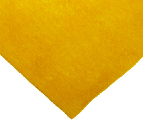 CPE Decorator Felt, 36 x 36 in, Yellow