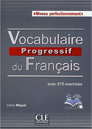 Vocabulaire Progressif Du Francais Niveau Perfectionnement