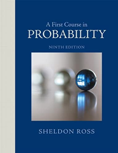 amazon com a first course in probability 9th edition rh amazon com