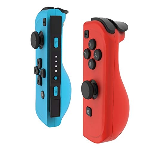 Left & Right Replacement Game Handle for Nintendo Switch Console Meidexian888 1 Pair of Game Controllers, Playing Time 10-20Hrs