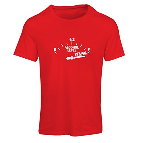 lepni.me N4177F Need a Drink Funny Gift Female Short Sleeve t-Shirt (XL, Red - Shop Online Laurent Saint