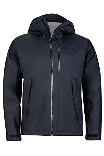 Marmot Magus Men's Lightweight Waterproof Rain Jacket Jet Black