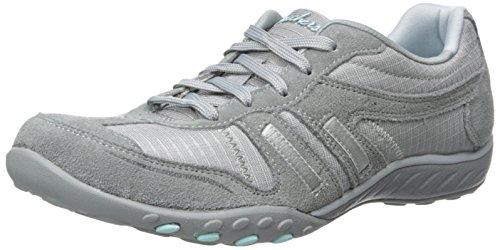 Gris Easy Femme Skechers Sneakers Breathe Jackpot Basses xg5xUzwYq
