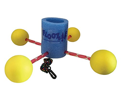 The Floozie-blue canister and yellow balls -