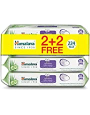 Himalaya Sensitive Baby Wipes, 4 X 56 Pieces - Pack of 1