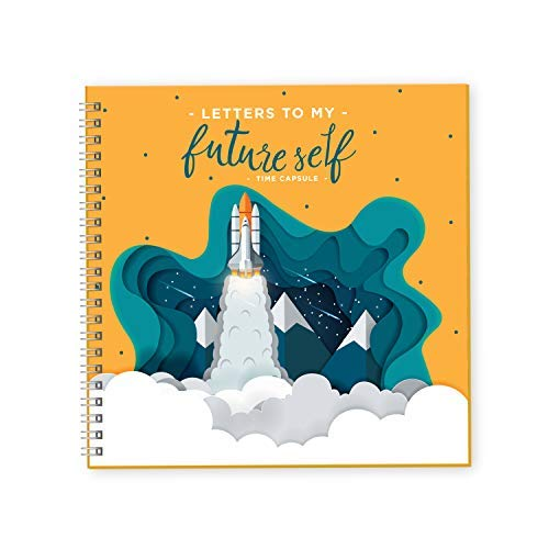 - Dulcet Dreams Letters to My Future Self Journal | Writing My Story While I Grow | 40 Pages 8X8 Hard Cover Journal Perfect for Kids Birthday Gifts | Journals to Write Down Your Life Ideas and Goals