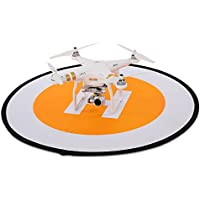 Goolsky 78cm Tarmac Apron Fast Foldable Retractable Fluorescence Landing Pad for Quadcopter RC Helicopter
