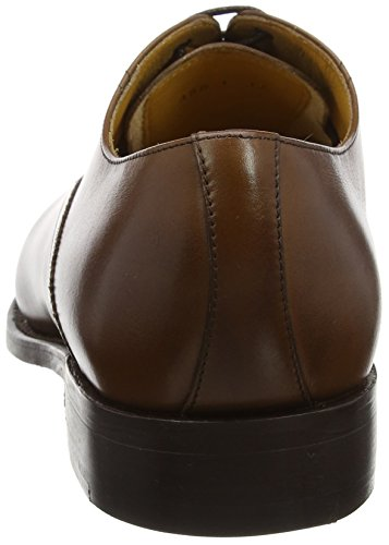 Nevis BARKER Calf Walnut Brown Oxfords Herren Schwarz 6PHPqwT5