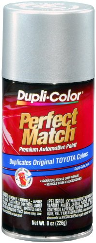Car Body Paint - Dupli-Color EBTY16177 Classic Silver Mica Toyota Exact-Match Automotive Paint - 8 oz. Aerosol