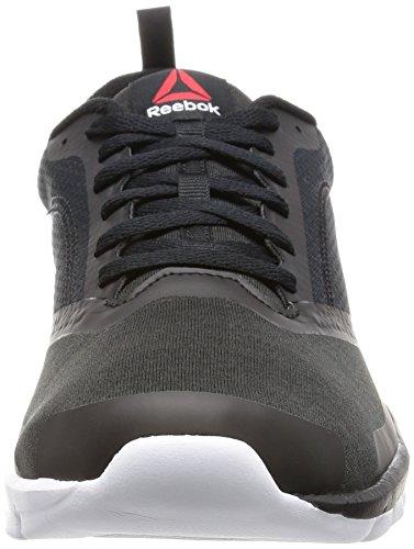 Reebok Sublite Authentic 4, Zapatos para Correr para Hombre Multicolor (Black/white)