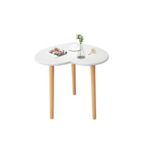 Amazon.com: Whthteey - Mesa de café con forma de corazón y ...