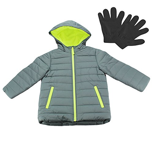 Carter's Boys Heavyweight Quilted Warm Winter Jacket and ...