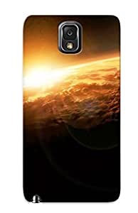Flexible Tpu Back Case Cover For Galaxy Note 3 - Space Art