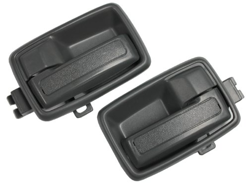 LatchWell PRO-4001567 Interior Door Handle Pair in Medium Gray for Isuzu Pickup Truck & SUVs & Honda Passport