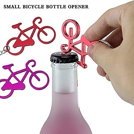 Abridor de botellas de cerveza de aluminio, llavero, abrebotellas de cerveza, llave de bolsillo, adecuado para decoración del hogar, llavero portátil, regalo divertido
