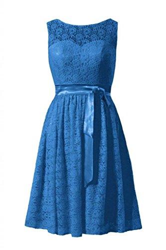 Dress BM43225 Vintage Blue Dress Party 37 royal Lace Lace DaisyFormals Short Bridesmaid Scoop RwtUtqg