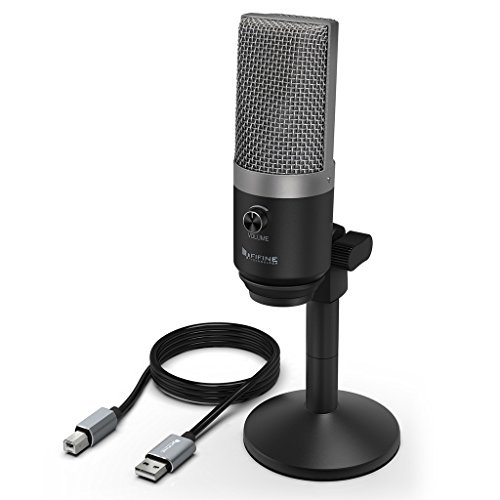 USB Microphone,FIFINE PC Microphone for Mac and Windows Comp