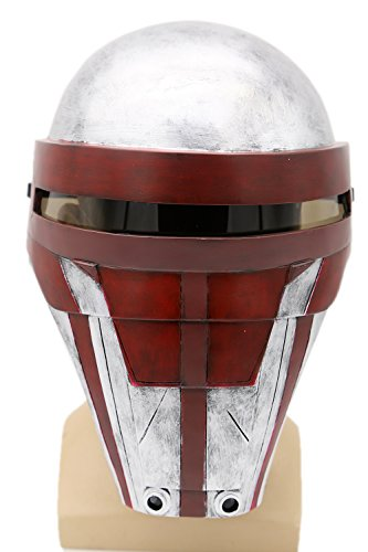 XCOSER Darth Revan Mask Helmet Costume Props for Halloween Cosplay -