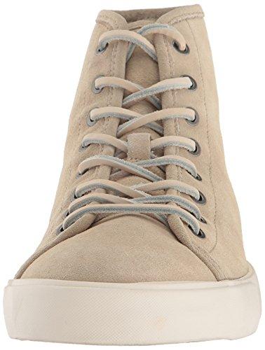 Frye Men's Brett High Tennis Shoe, Bone Bone