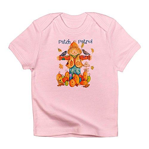 Royal Lion Infant T-Shirt Halloween Scarecrow Pumpkins Crows - Petal Pink, 12 to 18 -