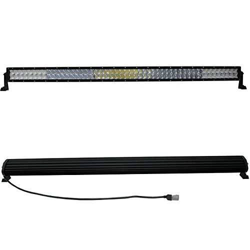Resulzon CREE LED Work Light Bar Spot Flood Combo Offroad SUV Driving Ford (50 inch 672W)