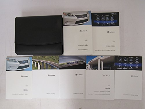 Price comparison product image 2015 Lexus ES 350/ES 300h Owners Manual Guide Book
