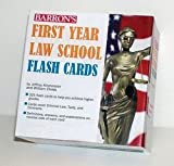 img - for Jeffrey Kirchmeyer: Barron's First Year Law School Flash Cards : 350 Cards with Questions & Answers; 2010 Edition book / textbook / text book