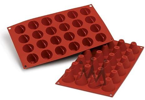 """Cookware Company – Molde de Silicona Flexible: volcán 0,54 oz, 1.52 """""""