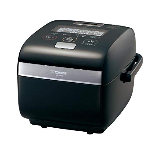 """ZOJIRUSHI Pressure IH Rice Cooker""""炎舞炊き"""" (5.5 Go/0.09~1.0L) NW-KA10-BZ (黒漆/Black Japanese Lacquer)【Japan Domestic Genuine Products】【Ships from Japan】"""