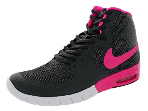 Nike Heren Paul Rodriguez 7 Hyperfuse Max Basketbalschoen Antraciet / Roze Folie