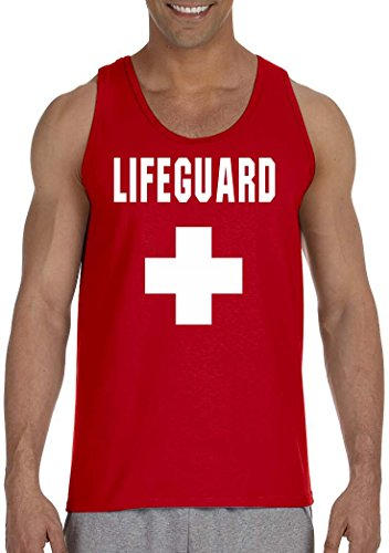 LIFE GUARD on Men's Tank Top -