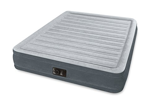 Comfort Plush Mattress (Intex Comfort Plush Mid Rise Dura-Beam Airbed with Built-in Electric Pump, Bed Height 13