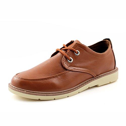 Zapatos de verano hombre/Moda casual transpirable zapatos de hombre marrón