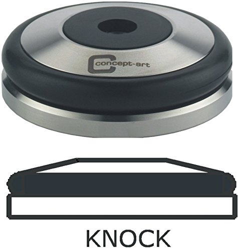 Tamper Base Knock 53mm stainless steel with 8mm thread compatible with all our Handles