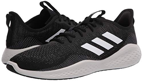 adidas Men's Fluidflow Bounce Regular Fit Running Sneakers Shoes, core Black/ftwr White/Grey Six, 11.5 M US