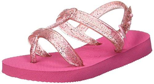 Pink Bambina Joy 0703 Con Alla Sandali Caviglia shocking Havaianas Rosa Cinturino 6nYzxzA