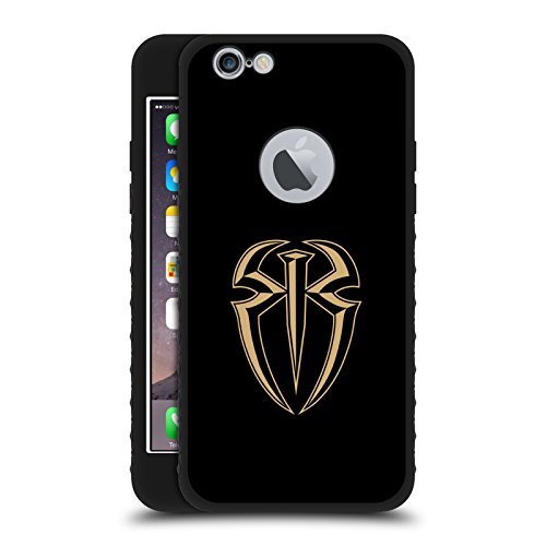 Head Emb - Official WWE Emblem Roman Reigns Black Armour Lite Case for iPhone 6/iPhone 6s