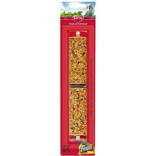 Kaytee Fiesta Tropical Fruit Parakeet Treat Stick, 3.5-oz