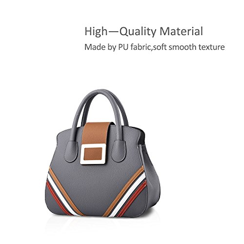 NICOLE Gray for Handbags PU Bag Cute Women Lady New Messenger Gray amp;DORIS Shoulder Bag rw7qUrz