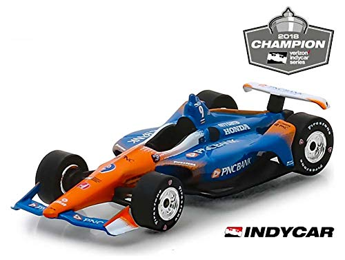 Greenlight 11053 1: 18 2018#9 Scott Dixon - 2018 Verizon IndyCar Series Champion/Chip Ganassi Racing, PNC Bank, Multicolor