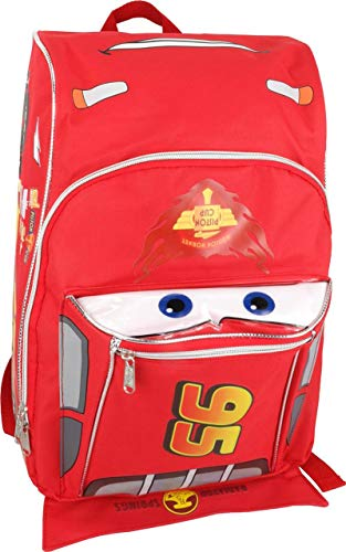 Disney Cars Shaped 12 Inch Toddler Backpack ()