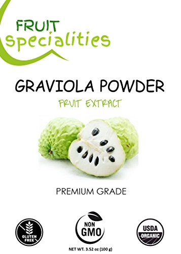 Graviola (Soursop) FRUIT Powder, 100% Natural, Pure Fruit Powder 2.2 lb (10:1 Extract) Annona Muricata Guanabana by Fruit Specialities (Image #8)