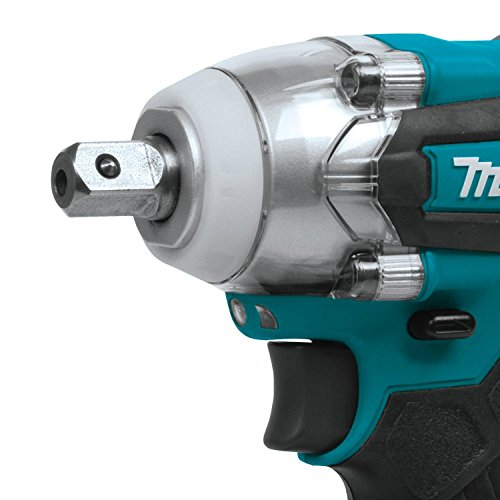 Makita XWT11Z 18V LXT Lithium-Ion Brushless Cordless 3-Speed 1/2' Sq. Drive Impact Wrench, Tool Only