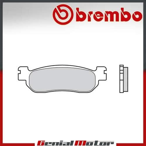 07YA37.07 Plaquettes Brembo Frein Anterieures 07 pour Yamaha TRICKER 250 2005  2007