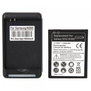 Battery Charger 2300 mAh Black