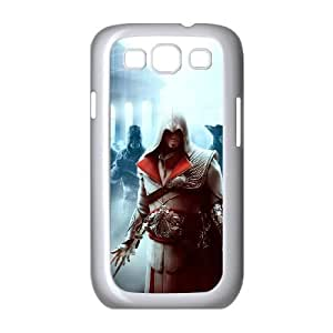 Samsung Galaxy s3 9300 White Cell Phone Case HUBYLW0710 Assassins Creed Generic Phone Cases