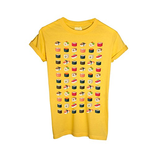 T-Shirt ART OF SUSHI WALL - FUNNY by iMage Dress Your Style
