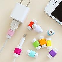 ZOEAST® 8 Colors Simple Quadrate Apple Lightning Data Cable USB Charging Data Line Saver Protector for iPhone 5 5C 5S SE 6 6S Plus IPad 2 3 4 IPad mini Air 2 iPad Pro iPod iWatch (8 X Combo)